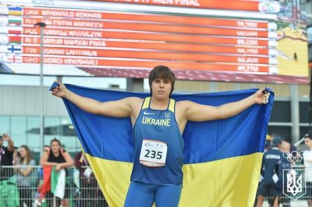 Легкоатлет Кохан приносить Україні золото Олімпійського фестивалю-2017