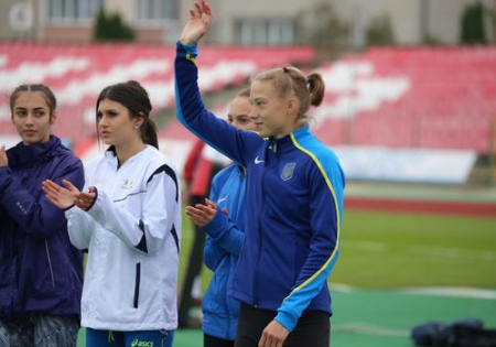 Шух – чемпионка Европы (U-20) с новым юниорским рекордом Украины