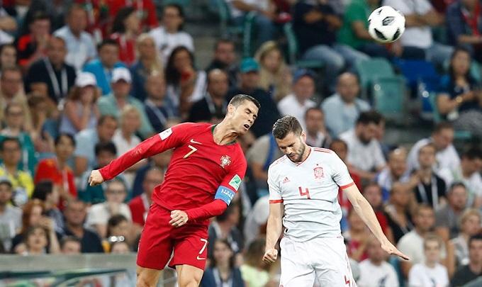 ЧС-2018: Збірні Португалії та Іспанії зіграли внічию у першому турі