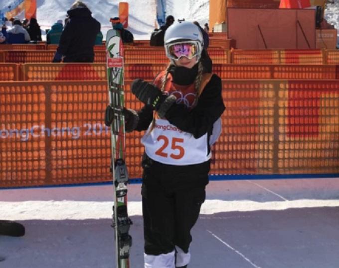 НаЗимових Олімпійський іграх виступила перша спортсменка від України
