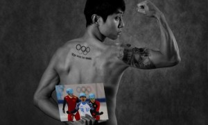Російські олімпійці оголилися перед камерами. ФОТО
