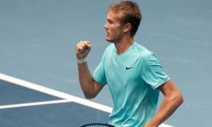 Сачко вперше у кар'єрі вийшов у фінал турніру ATP Challenger Tour