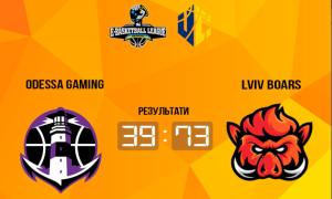 Lviv Boars розгромили Odessa Gaming у чемпіонаті України