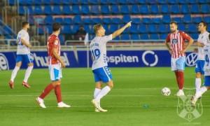 Соль забив свій дебютний гол за Тенеріфе