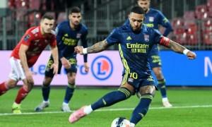Ліон ледь не втратив перемогу над Брестом у 26 турі Ліги 1