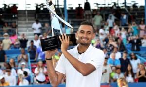 Кірйос здобув перемогу на турнірі у Вашингтоні