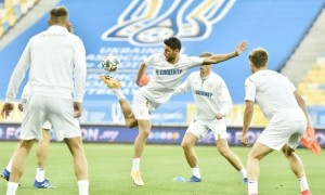 Збірна України обрала форму на матч із Швейцарією