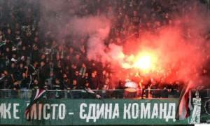 Львівське дербі двічі зупинялося через фаєр-шоу вболівальників