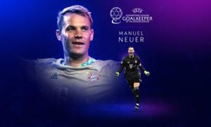 Ноєр став найкращим воротарем Ліги чемпіонів