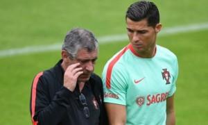 Роналду пропустив перше тренування збірної Португалії