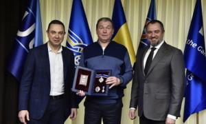 Блохіну вручили орден князя Ярослава Мудрого