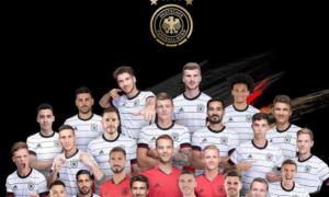 Збірна Німеччини оголосила склад на Євро-2020