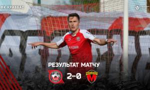 Кривбас - Металург 2:0. Огляд матчу