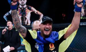 Непереможний Амосов став першим українським чемпіоном Bellator