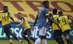 Еквадор декласував Колумбію, перемоги Бразилії та Аргентини. Результати відбору на чемпіонат світу