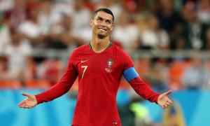 Роналду розкритикував суддів матчу з Сербією
