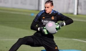 Лунін відновив тренування з Реалом