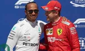 Феттель привітав Гамільтона зі здобуттям 7 чемпіонського титулу в Формулі-1