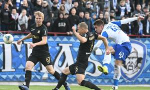 Динамо у матчі із двома вилученнями перемогло Колос