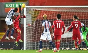 Ліверпуль втратив очки в матчі з Вест Бромвічем у 15 турі АПЛ