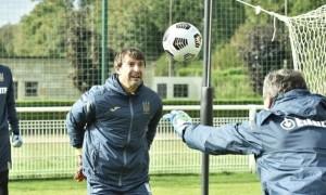 Шевченко пояснив, чому не випустив Шовковського у грі з Францією