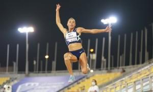 Бех-Романчук із найкращим стрибком у сезоні виграла етап Діамантової ліги