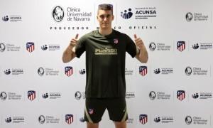 Атлетіко підписав воротаря з Хорватії