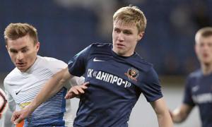 Півзахисник Дніпро-1 став найкращим гравцем місяця Першої ліги