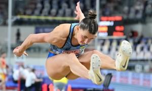 Відео дня. Золотий стрибок Марини Бех-Романчук на чемпіонаті Європи