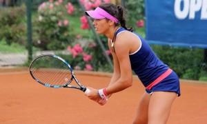 Страхова вперше в сезоні вийшла у чвертьфінал турніру ITF