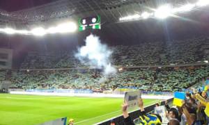 УЄФА оштрафував УАФ за поведінку фанатів