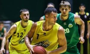 Київ-Баскет переміг Тернопіль у контрольному матчі