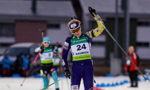 Рейселанн-Ольсбу виграла гонку переслідування Кубка світу, Підгрушна - у ТОП-30