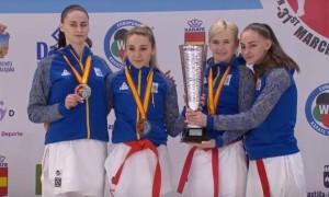 Українки здобули золото чемпіонату Європи з карате