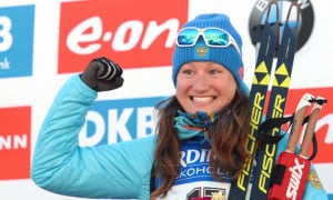 Російській біатлоністці порадили виступати за збірну України
