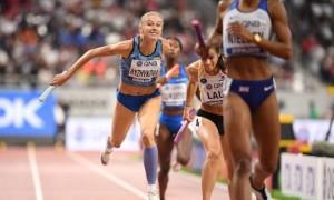 Завдяки дискваліфікації Канади Україна посіла шосте місце в естафеті і поїде на Олімпіаду