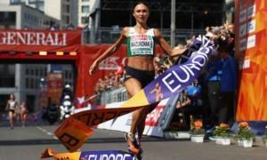 7 кілометрів крові. Як білоруска вигравала ЧЄ з марафону. ВІДЕО