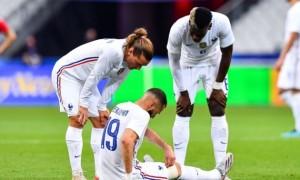Бензема травмувався у матчі проти Болгарії
