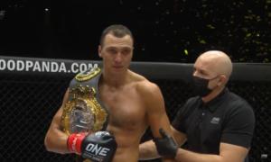 Українець Крикля захистив титул чемпіона ONE з кікбоксингу