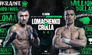 Ломаченко - Кролла: де і коли дивитися онлайн бою