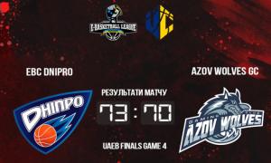EBC Dnipro переміг Azov Wolves і став першим чемпіоном України