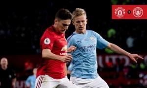 Манчестер Юнайтед виграв дербі у Манчестер Сіті в  29 турі АПЛ