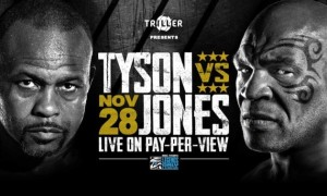 Тайсон та Джонс провели зважування перед боєм