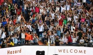 На презентаці Азара в Реалі вболівальники вимагали іншого футболіста