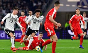 Німеччина зіграла внічию з Сербією