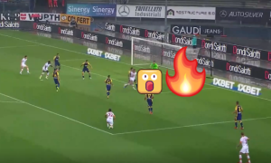 Неймовірна краса: капітан Роми забив фантастичний гол п'ятою злету