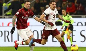 Мілан здолав Торіно у чвертьфіналі Кубка Італії