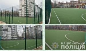 У Києві поліцейські викрили схему фінансових махінацій щодо будівництва футбольних полів