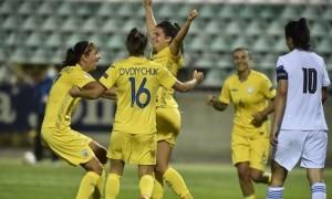 Збірна України розгромила Грецію у відборі на Євро-2022
