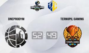 Dneprodym здобув важку перемогу над Ternopil Gaming
